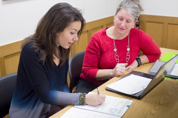 Northwood School faculty helping with college prep