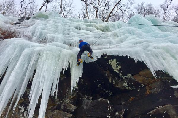 Ice Climbing at Northwood