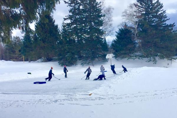 Northwood School Pond Hockey