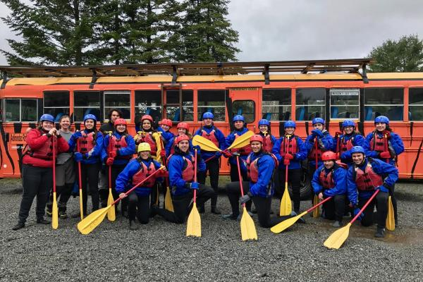 Northwood School Adirondack Rafting