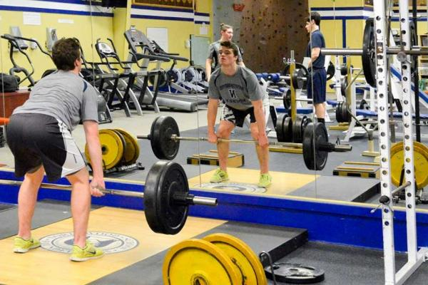 Northwood Strength & Conditioning in Weight Room