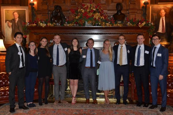 young alumni gather in NYC