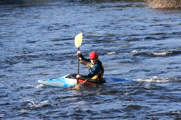 Northwood School, whitewater kayaking