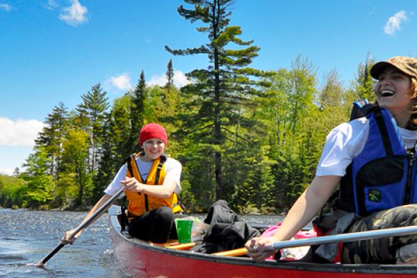 Northwood School, Paddling in the Adirondacks