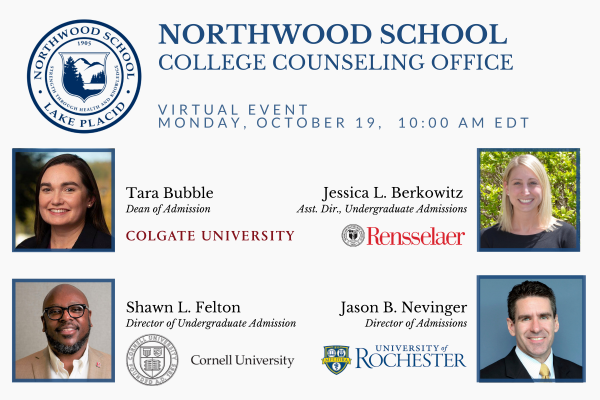 College Counseling event on Oct. 19